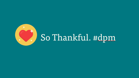 Thankful for DPM; Icon by Pixel Buddha